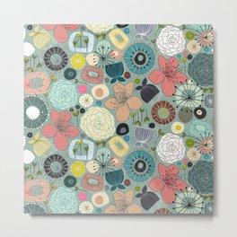 oriental blooms Metal Print
