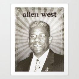 Allen West Art Print