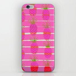 Pink Pineapples iPhone Skin