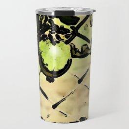 Passion Fruit in green Travel Mug