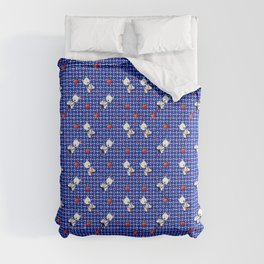 KiniArt Westie Love Doctor Comforters