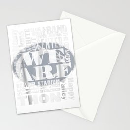 we are penn state Stationery Cards