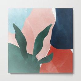 Color Paradise #illustration Art Print Metal Print