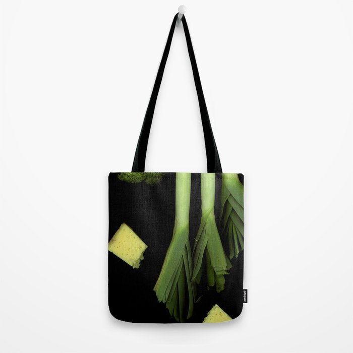 Leeks and Cheese Tote Bag