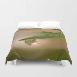 Shiny Drop n Forest #decor #buyart #society6 Duvet Cover