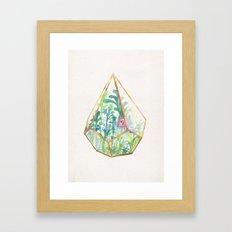 Terrarium II Framed Art Print