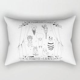Bearded Ladies Rectangular Pillow