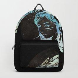 Moon Child Goddess Bohemian Girl Backpack