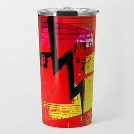 text bolt Travel Mug