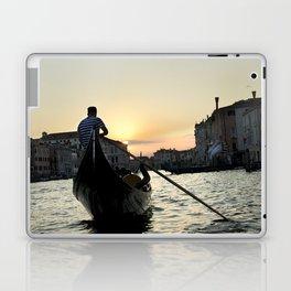 Gondolier at Sunset Laptop & iPad Skin