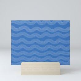 Wavy Mini Art Print