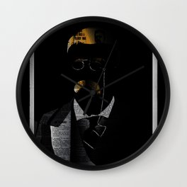 In History, there was a man that wanted to do it all. Wall Clock