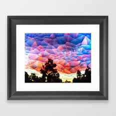 Carolina Sunset Framed Art Print