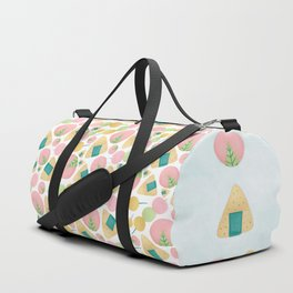 Japanese Snacks Duffle Bag