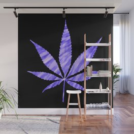 Weed : High Times Purple Blue Wall Mural