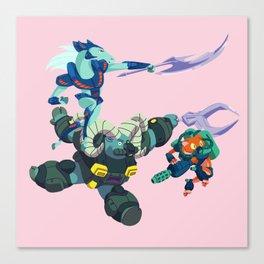 Battle Beasts - Trio 1 Canvas Print