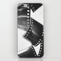 film iPhone & iPod Skins featuring Film by Taylor Murray