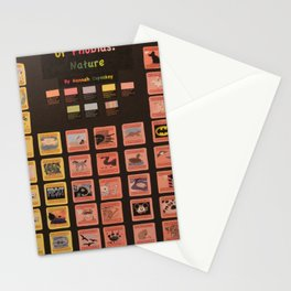 Periodic Table of Phobias Stationery Cards