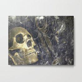 OldSkull Metal Print