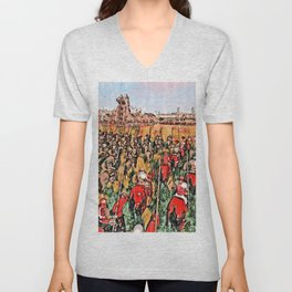 Siege of Edessa Unisex V-Neck