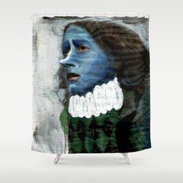 Cyrano/Newspaper Serie Shower Curtain