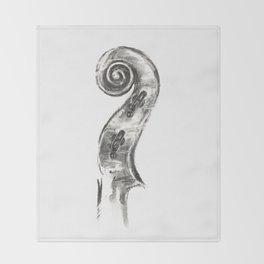 Scroll Throw Blanket