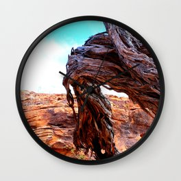 Patterns of the Outback Wall Clock