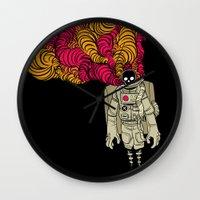 musa Wall Clocks featuring cosmorot by musa