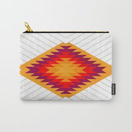 053 Traditional navajo pattern interpretation Carry-All Pouch