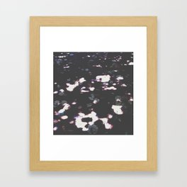 light + shadow Framed Art Print