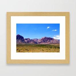 Land and Sky Framed Art Print