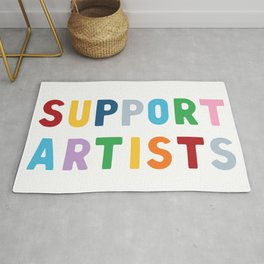 Support Artists Rug
