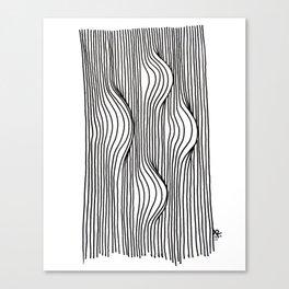 Bumps Canvas Print