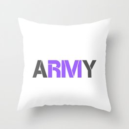 BTS RM ARMY Throw Pillow