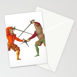 A Gentlemen's Duel Stationery Cards