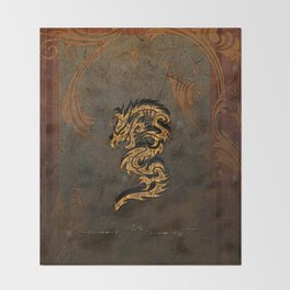 The dragon Throw Blanket