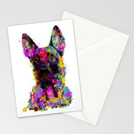 Belgian Shepherd - Malinois puppy Stationery Cards