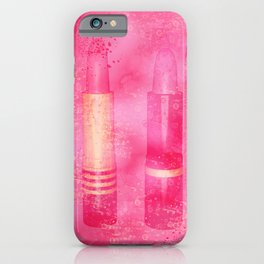 Four Tubes of Lipstick iPhone Case