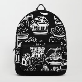 Succulent Party (Night Version) Backpack