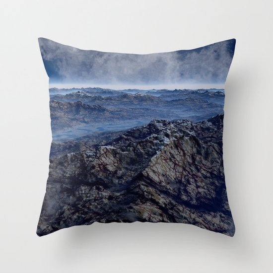Welcome To Planet X Throw Pillow