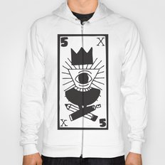 mighty eye card Hoody