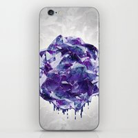 mineral iPhone & iPod Skins featuring Mineral by Lindella
