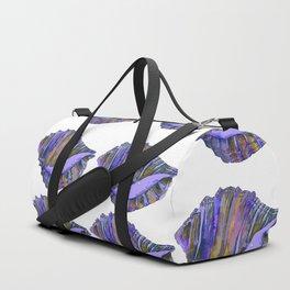 NAUTILUS CONCH SEA SHELL PURPLE IMPRESSIONS Duffle Bag