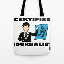 Journalist Tote Bag