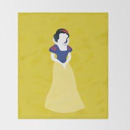 Princess Snow White Throw Blanket