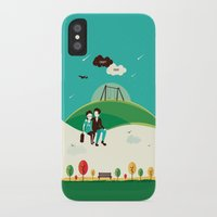 the fault in our stars iPhone & iPod Cases featuring The Fault In Our Stars by Risa Rodil