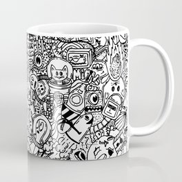 Space Doodles Coffee Mug
