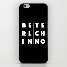 Berlin Techno iPhone Skin