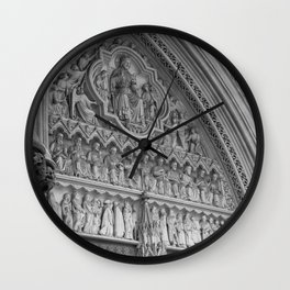 Entering Westminster Abbey Wall Clock