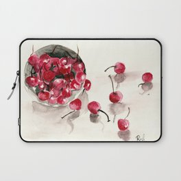 Cherries in a Bowl Laptop Sleeve